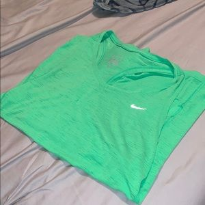 Cute green Nike workout tank size medium